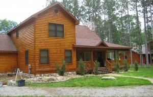 Refinish your log cabin