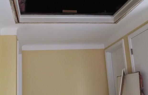 plaster repair before