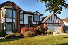 Exterior home wood replacement & repaint