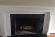 New mantle installed